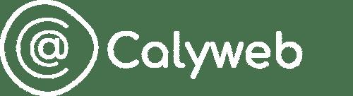 Logo Calyweb en blanc